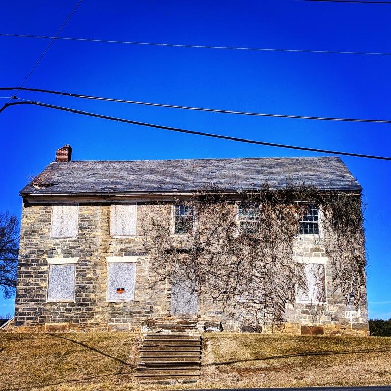 Abandoned Houses Near Schoenersville, Pennsylvania, USA
